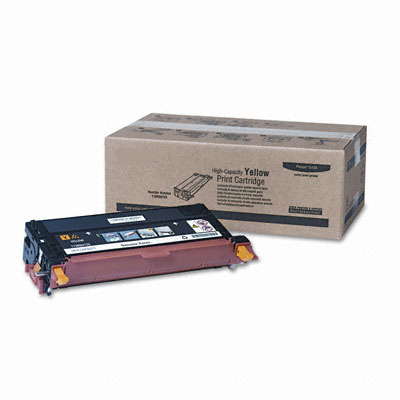 TREND Compatible for Xerox 113R00725 High Capacity Yellow Toner Cartridge (6K YLD)